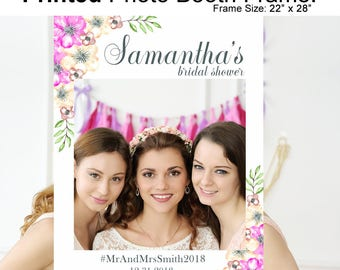 Bridal Shower Photo Booth Frame Bridal Shower- Bridal Shower Photo Frame- Bridal Shower Photo Prop- Bridal Shower Decorations- Frame Prop
