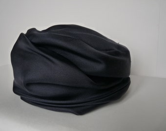 REYNE (Geneva) - blue silk hat Navy