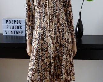 Robe vintage 60's CREATIONS IMPEKA LUXE taille 40 - uk 12 - us 8