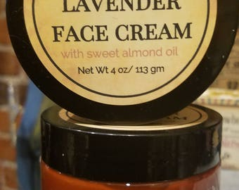 Old Fashioned Lavender Face Cream