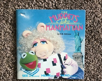 The Muppets Take Manhattan 1984 book