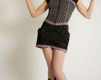 JEZABEL WAGNER rockabilly burlesque bustier dress