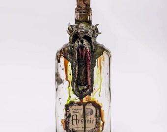 Demon Monster Poison Bottle Apothecary jar