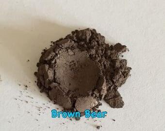 Loose Mineral Eyeshadow in Brown Bear