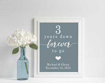 3rd Anniversary Gift For Her, 25 Year Wedding Anniversary Gift Wedding Gift For Best Friend Wedding Gift To Husband Anniversary