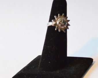 Sun Ring Sterling Silver MOVABLE
