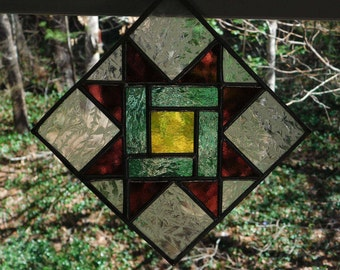 Stained Glass Star Quilt,Stained Glass Star Quilt Pattern,Star Quilt