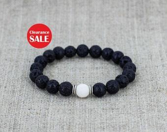 Men jewelry Men bracelet Gemstone bracelet Healing stones bracelet Energy bracelet Mens gift-for-brother gift-for-boyfriend gift father gift