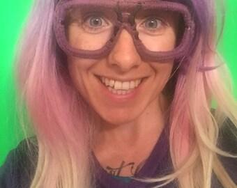 CROCHADES in Purple