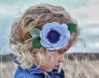 Sweet Bliss Headband - Baby Blue