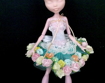 Outfit mh, mh clothes, dress for monster doll , clothes for Monster doll, dressed fairy doll