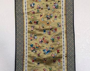 Mini Asian tapestry
