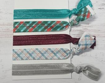 Hair Ties - Hair Accessories - Ponytail Holder - Stocking Stuffer - Yoga Hair Ties - Hair Ties for Women - Elastic Hair Ties - Teacher Gift
