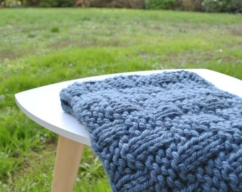 The blue child Snood
