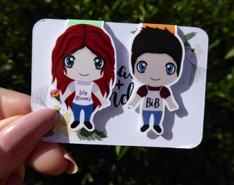 Lily and the Homeless Boy Magnetic Bookmark
