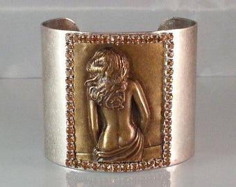 Erotic Jewelry Cuff | Burlesque Jewelry Cuff | Sexy Cuff | Dawn Santucci