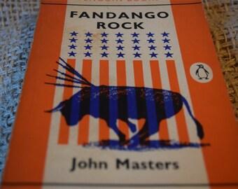 Fandango Rock. John Masters. A Vintage Orange Penguin Book 1662. 1961