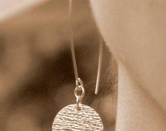 Dangling Earrings - 14K Gold Filled Drop Earrings - Dainty earrings, Everyday earrings, Simple dangle earrings