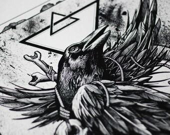 Art print,wall art prints,ghotic art,ghotic print,dark art,dark print,tattoo print,tattoo art,horror art,horror print,skull art,skull print