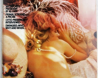 Penthouse January 1973 Pretty much mint except loose centerfold FREE SHIPPING