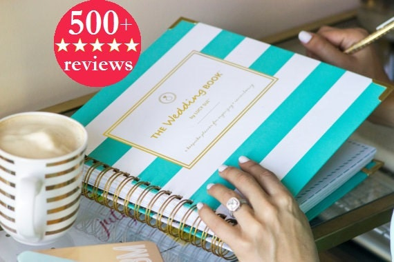 Keepsake Wedding Planner Book Monogrammed Planner Wedding