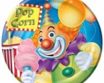 Ringling Brothers Circus ''Big Top'' Dessert Paper Plates 8ct