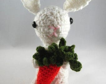 Brittany the Bunny/Crochet Rabbit/Easter Rabbit/Stuffed Toy Rabbit/Stuffed Animal/Crochet Bunny/Bunny Plushy/Stuffed Bunny/Toy Bunny