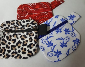 Key Ring Coin Pouches