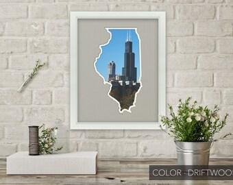 Illinois Photo Map