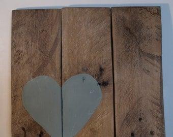 Heart Wood Sign, Love Pallet sign, Wall Art, Home Decor