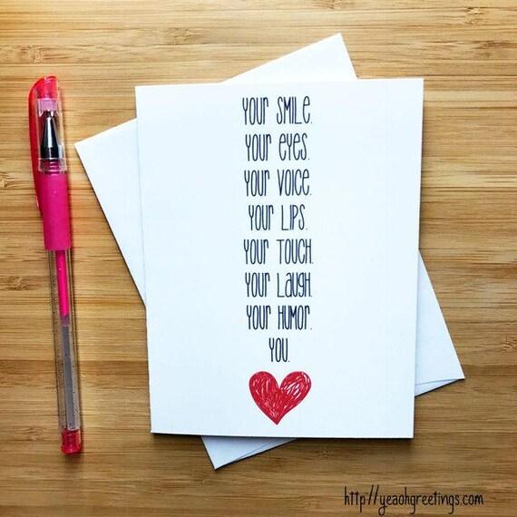Sweet Romantic Love Card For Boyfriend Girlfriend Cute Love