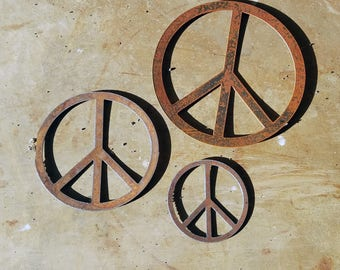 Peace Signs - 3 pieces