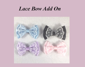 Add a Lace Bow