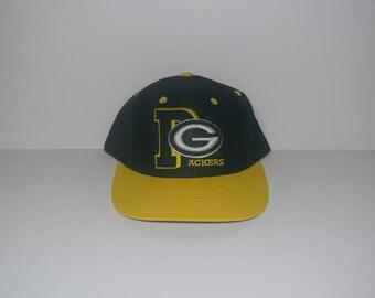 Vintage Green Bay Packers Snapback