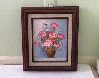 Beautiful Floral Painting Robert Cox