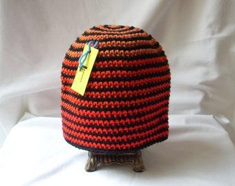 Black Striped Hat, Teen Gift, Teen Boy Winter Hat, Teen Crochet Hat, Teen Striped Hat, Teen Ombre Beanie, Striped Teen Beanie