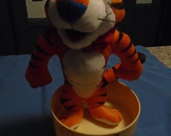Tony The Tiger Cereal Bowl and Plush