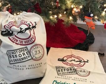 Santa Sack...personalized Santa bag