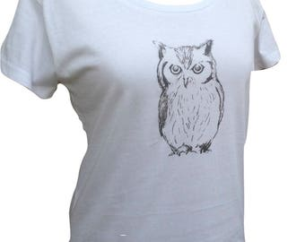 Owl Womens TShirt - 3 colours