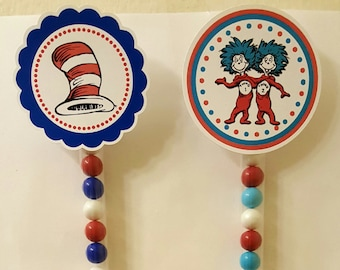 Dr. Seuss Sixlet Favors