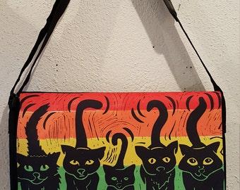 Shoulder bag cat gang