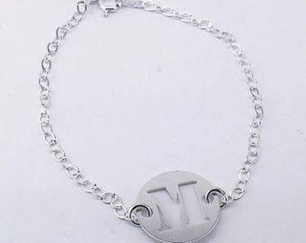 Custom, Initials Bracelet.