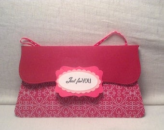 PRETTY PURSE GIFT Card Holder