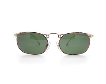 Genuine 1980s Gianfrance Ferre 173s Square Vintage Sunglasses // New Old Stock // Made in Italy