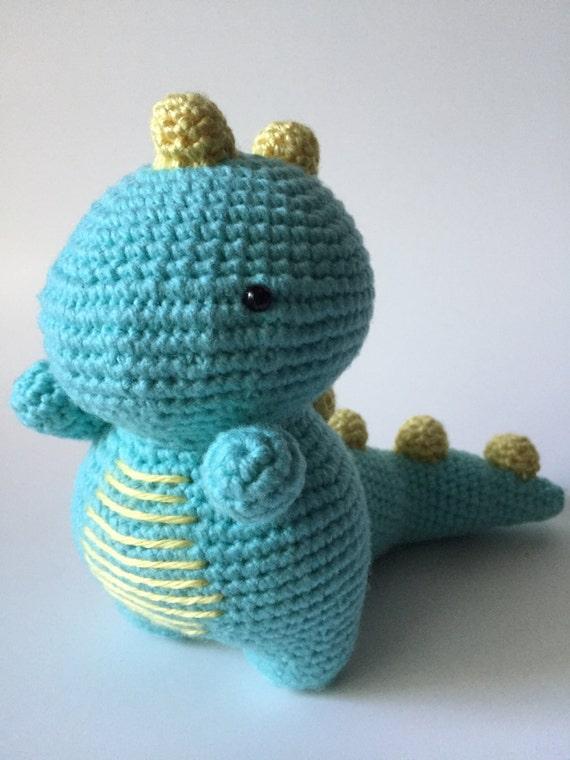 Amigurumi Dinosaur : Crochet Dinosaur Amigurumi Dinosaur Dinosaur Plush Cute