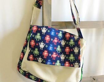 Custom Kid's Messenger Bag  (Free Shipping)
