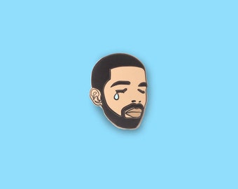 Crying Drake Enamel Pin *BACK IN STOCK*