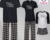 Birthday Pajamas Fierce, ...