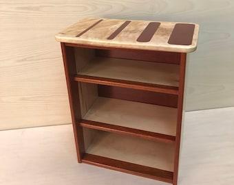 nightstand/ bookshelf