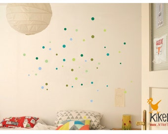 Wall decals points circles dots Ahoy
